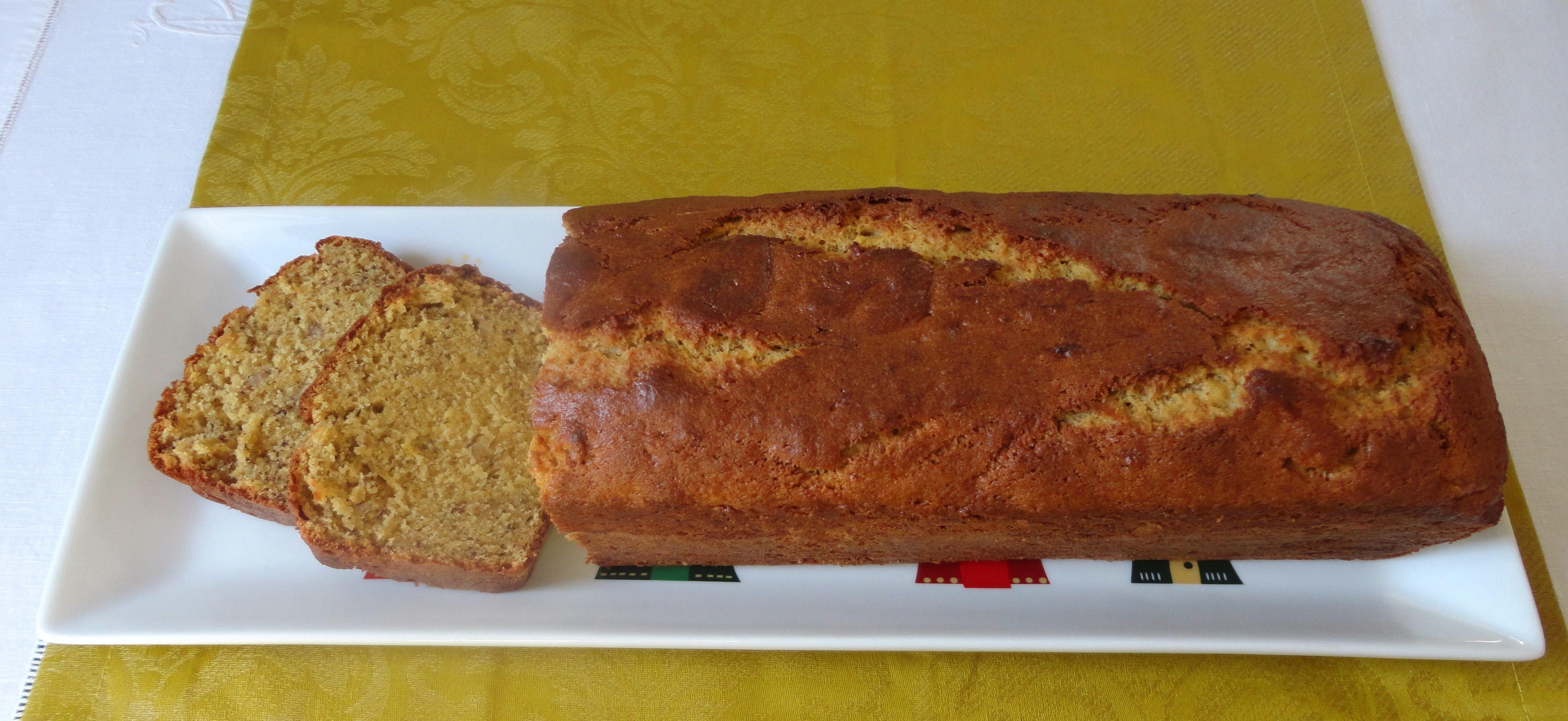 """""""Pão"""" de Banana com Manteiga de Amendoim"""