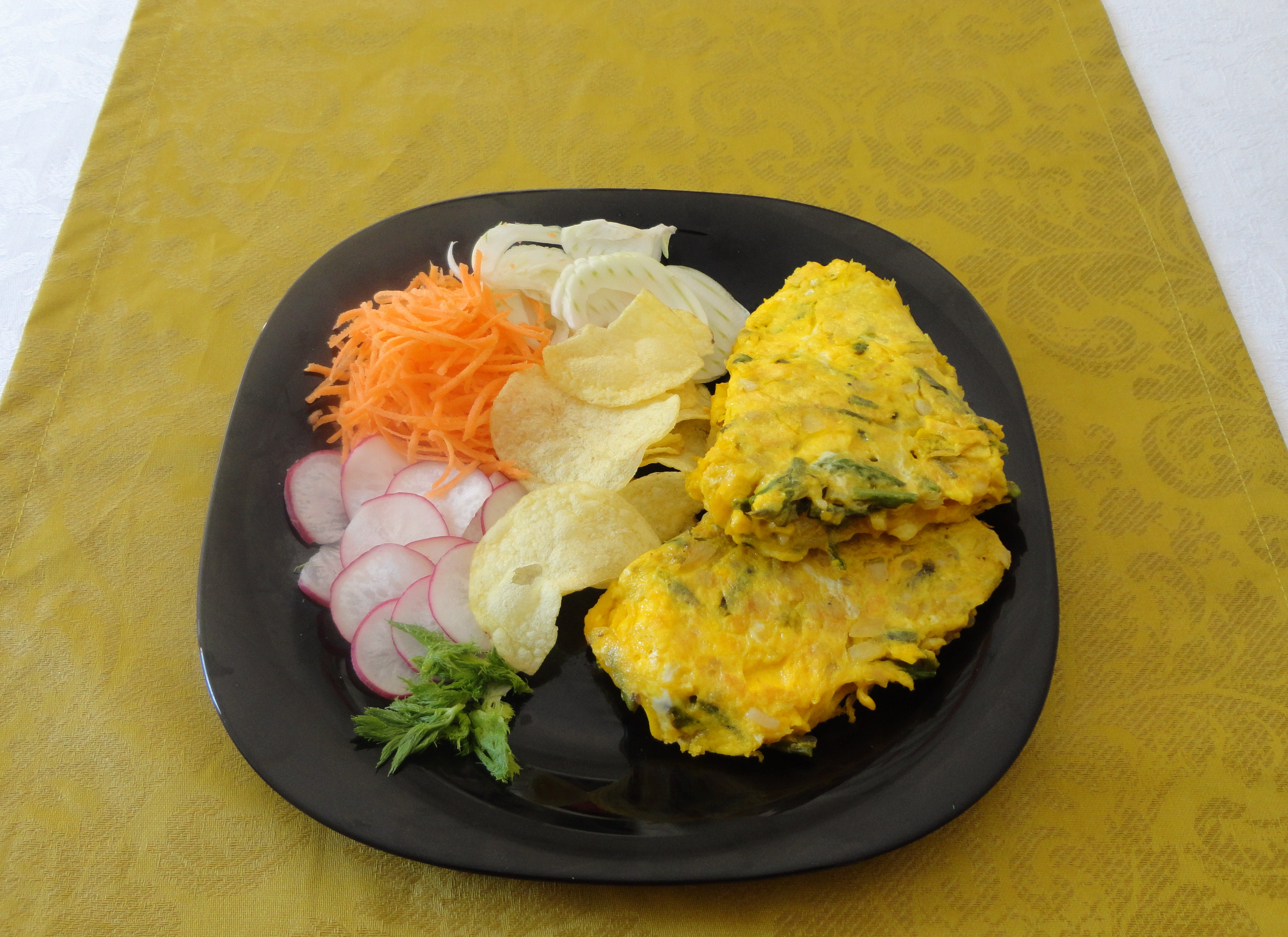 Omelete de Espargos Bravos