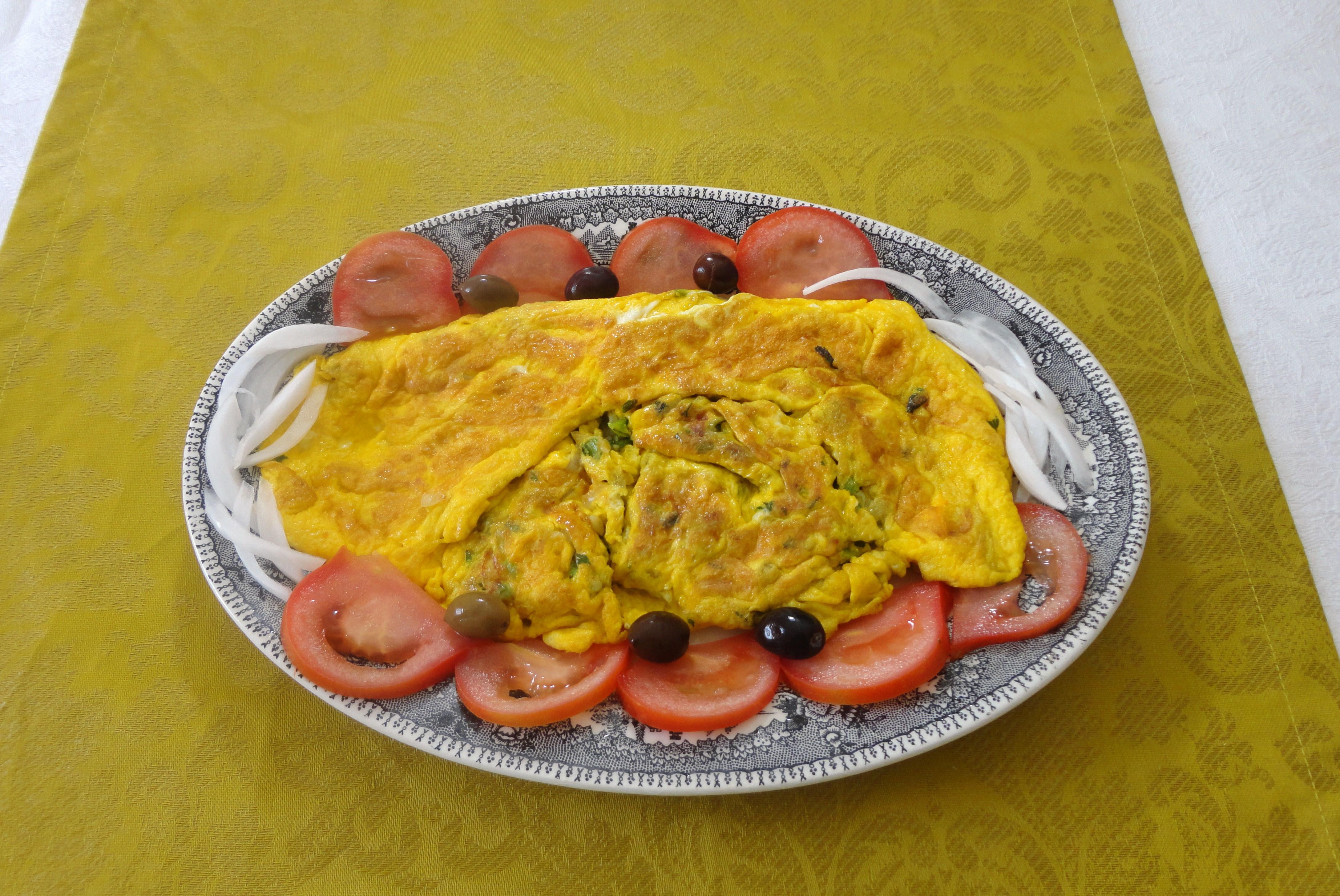 Omelete de Favas