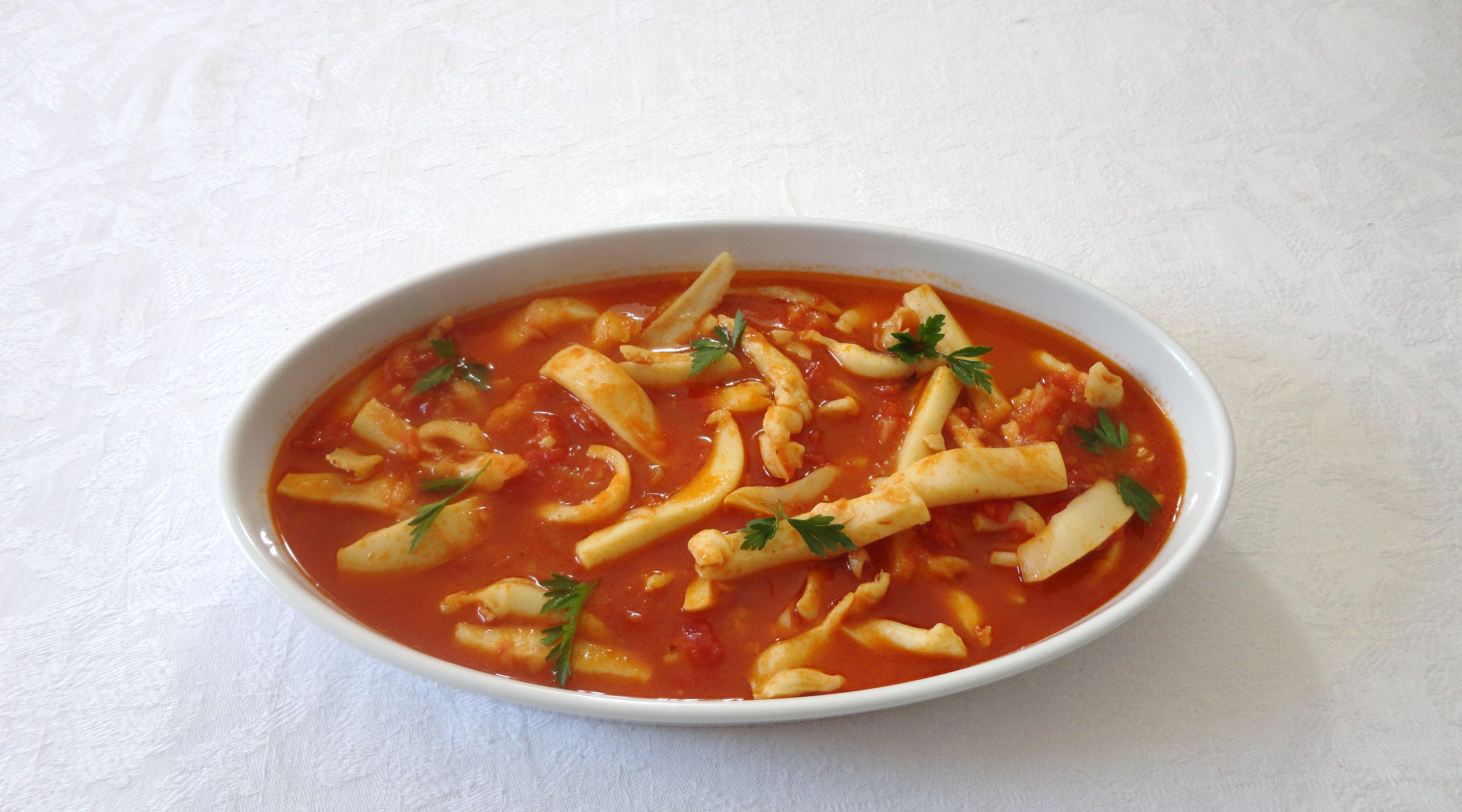 Chocos de Tomatada