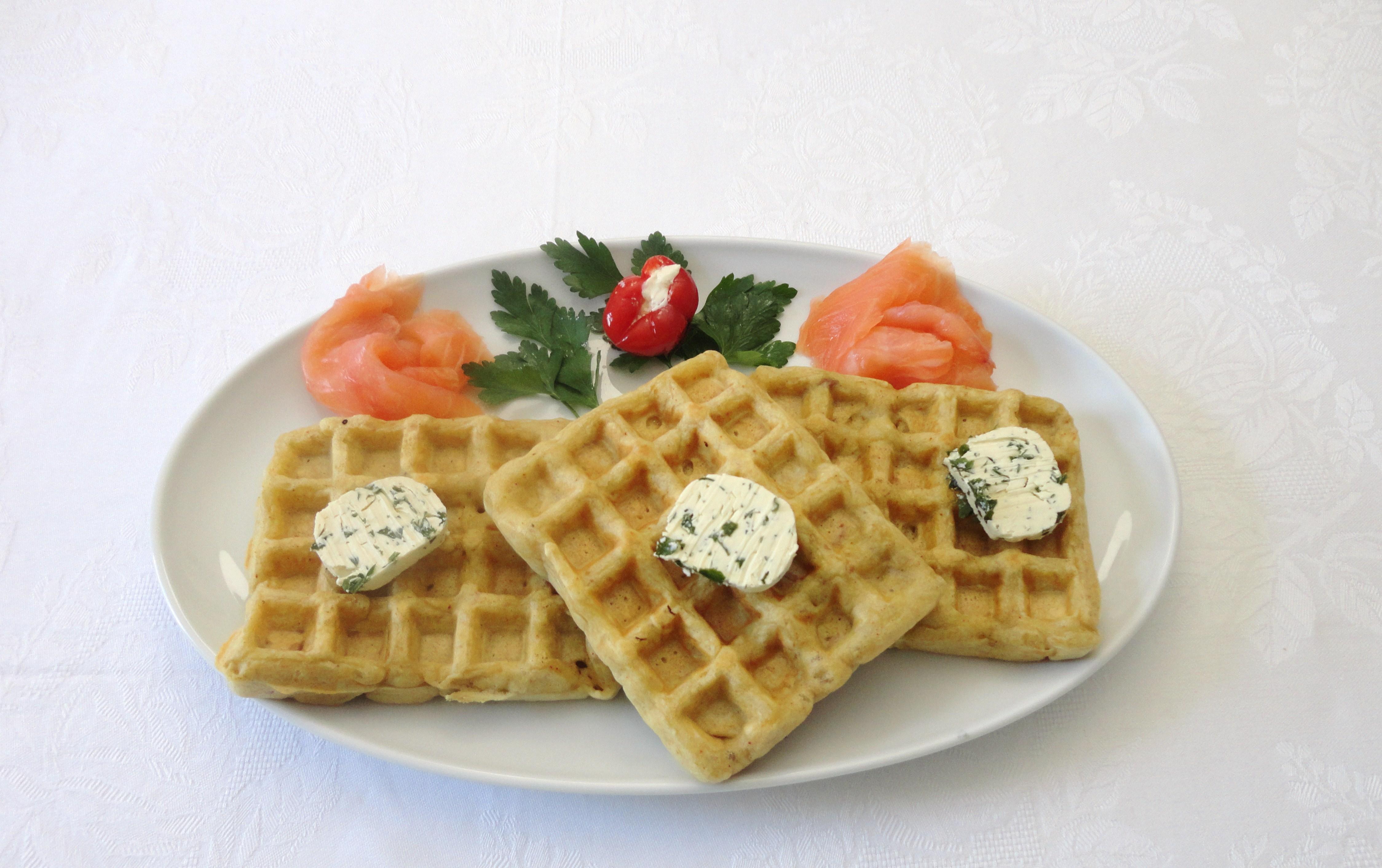 Waffles de Atum