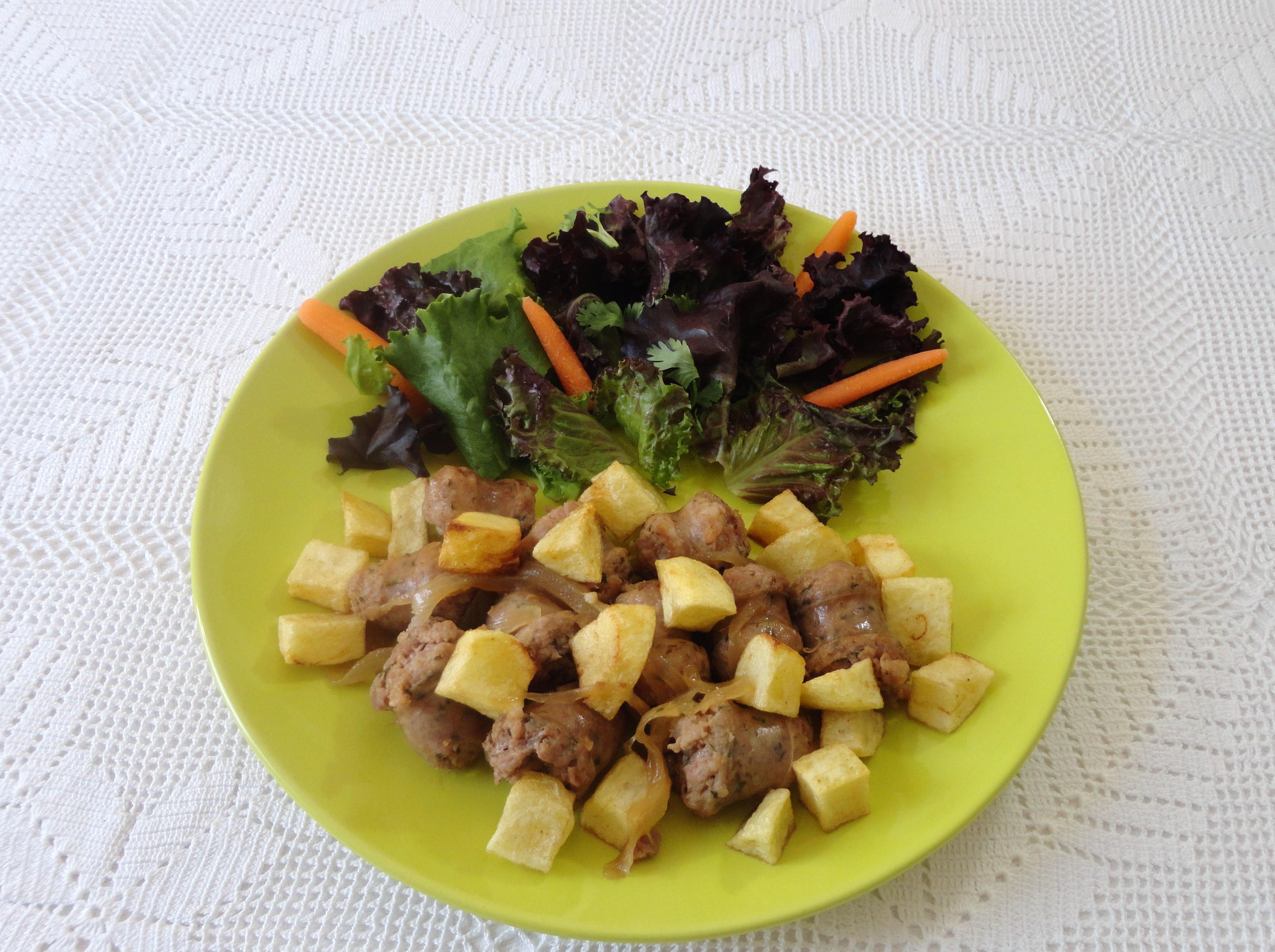 Salsichas Frescas com Moscatel