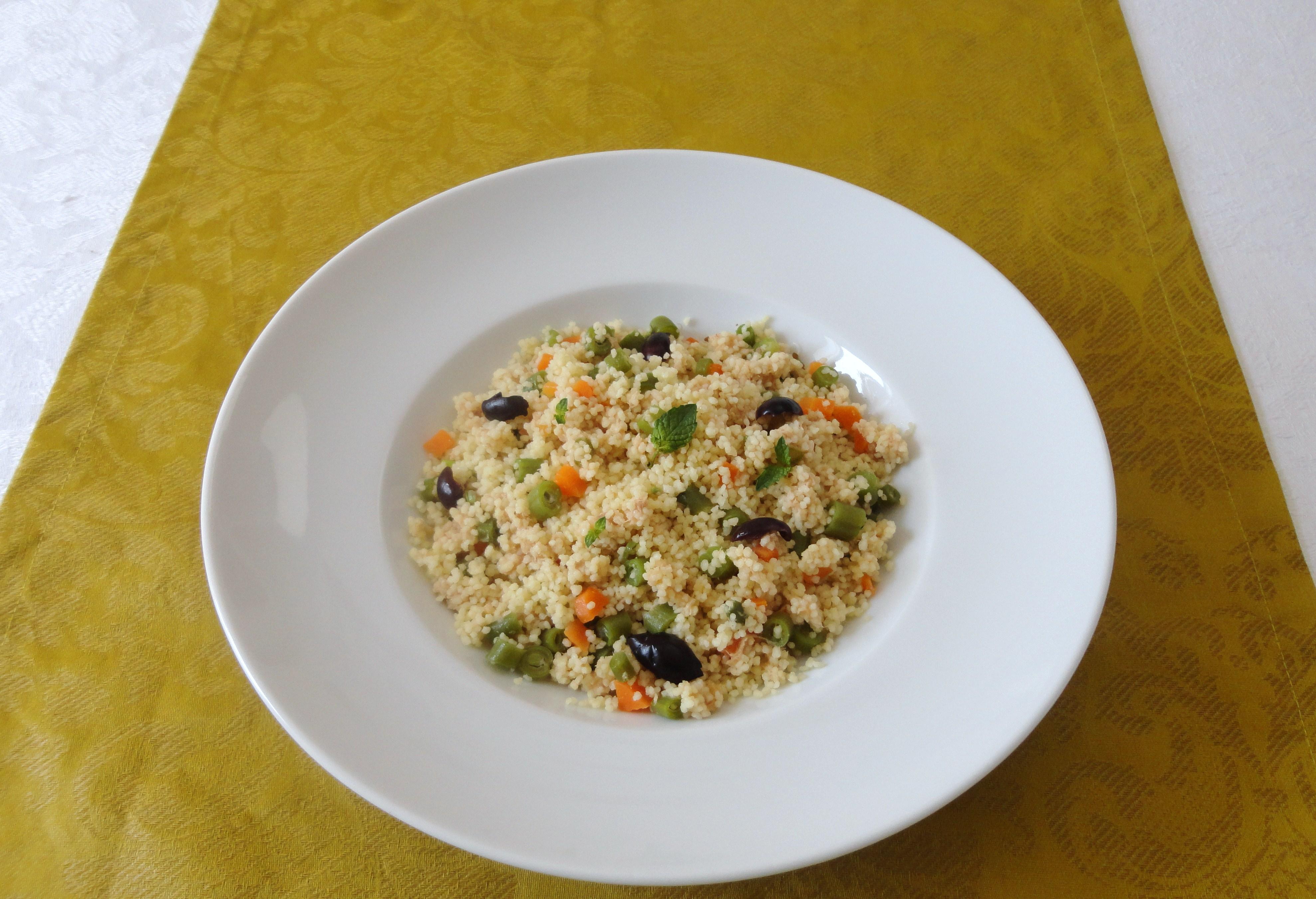 Couscous com Paté de Atum