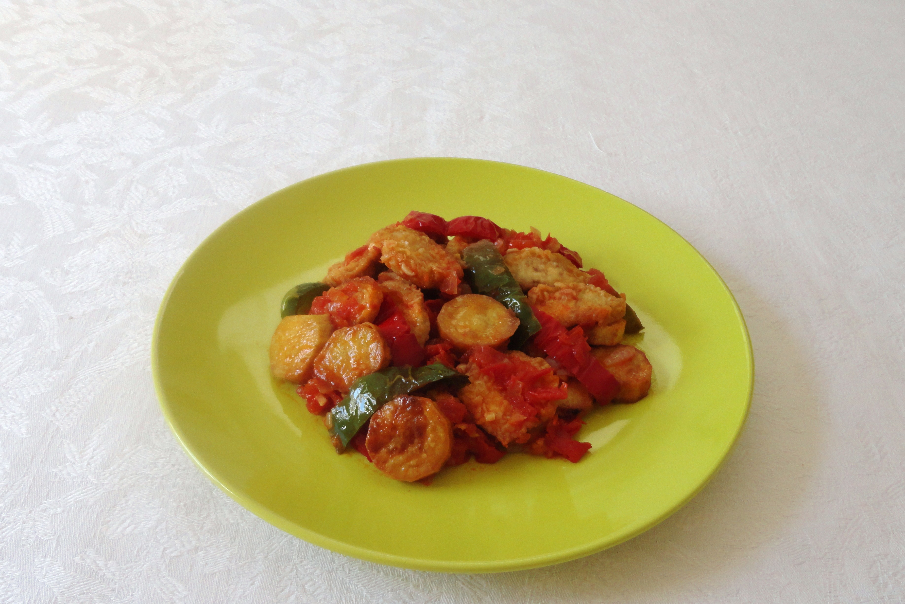 Legumes em Molho de Tomate