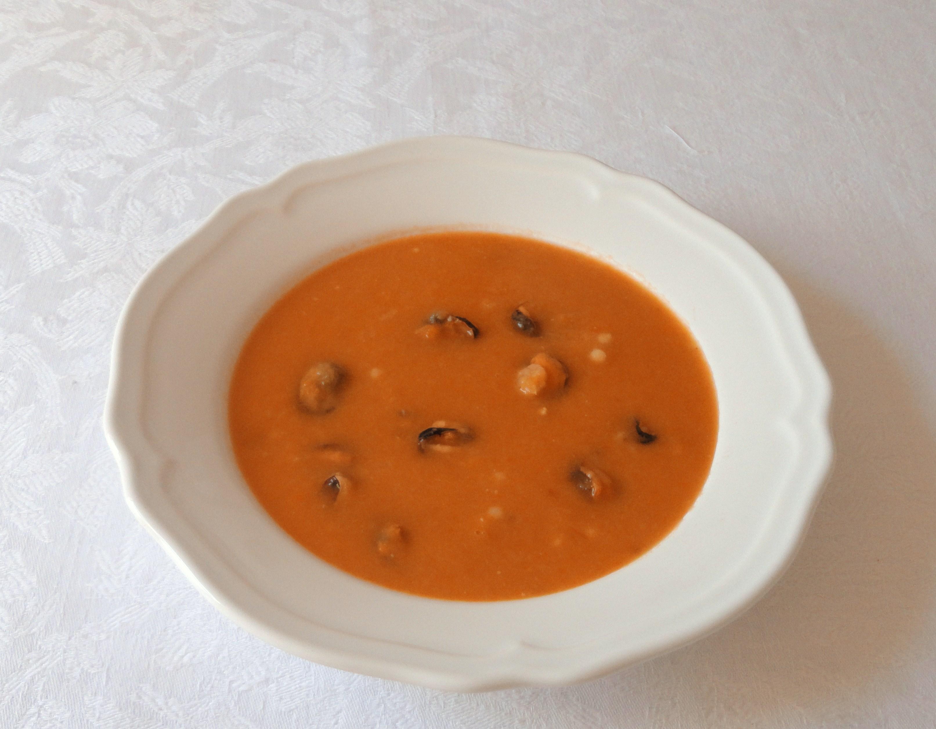 Sopa de Marisco com Feijão