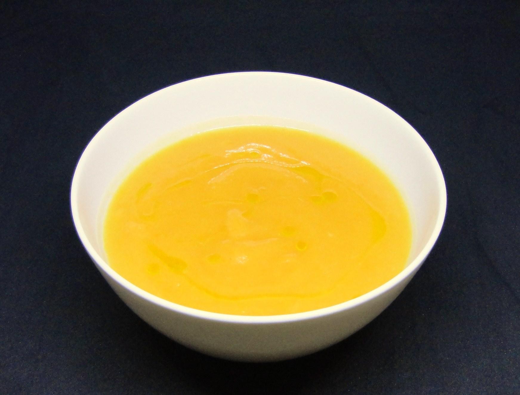 Creme de Cenoura e Nabo