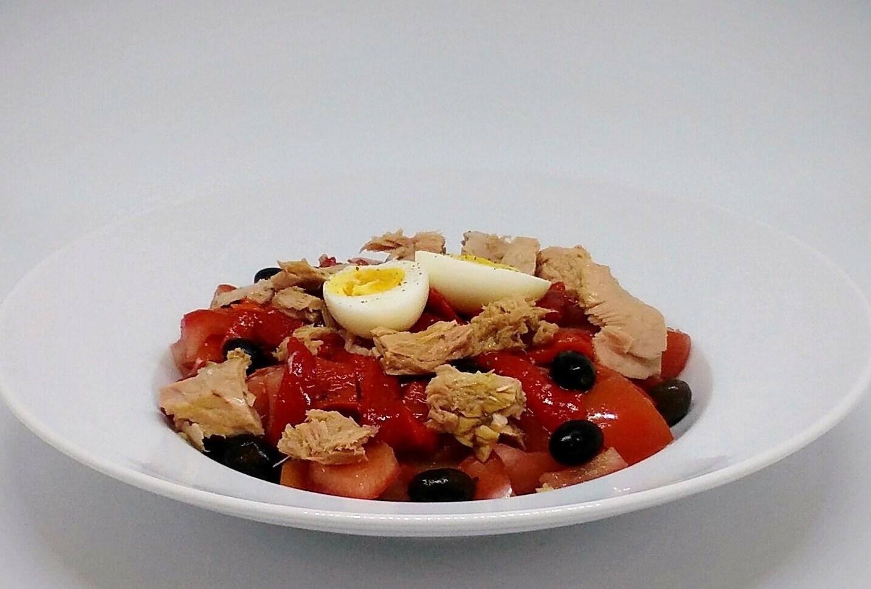Salada de Atum e Pimentos Assados