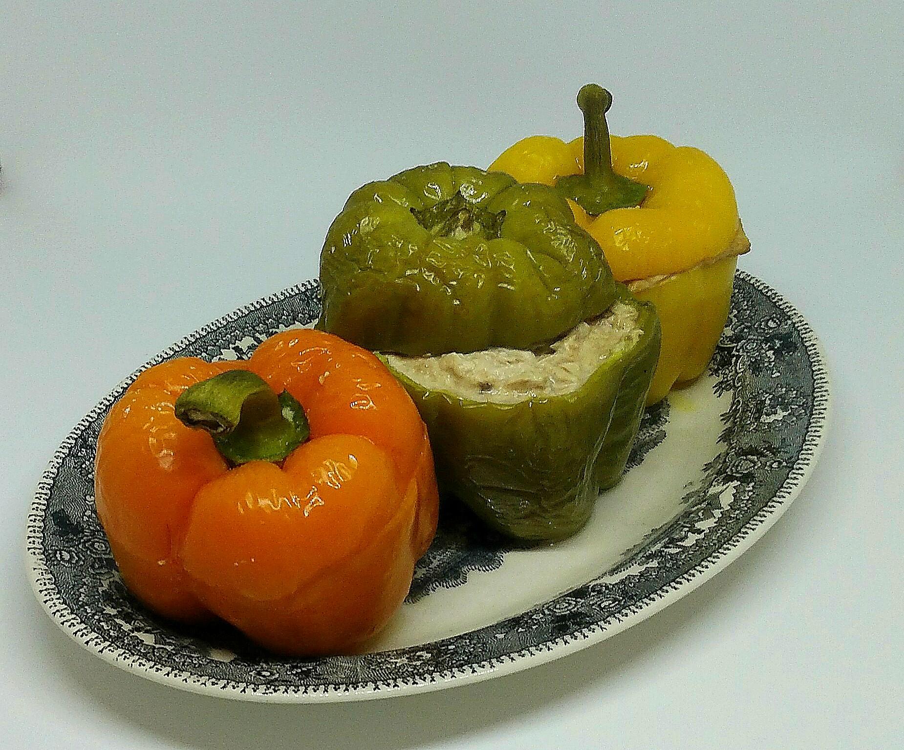 Pimentos Recheados com Atum