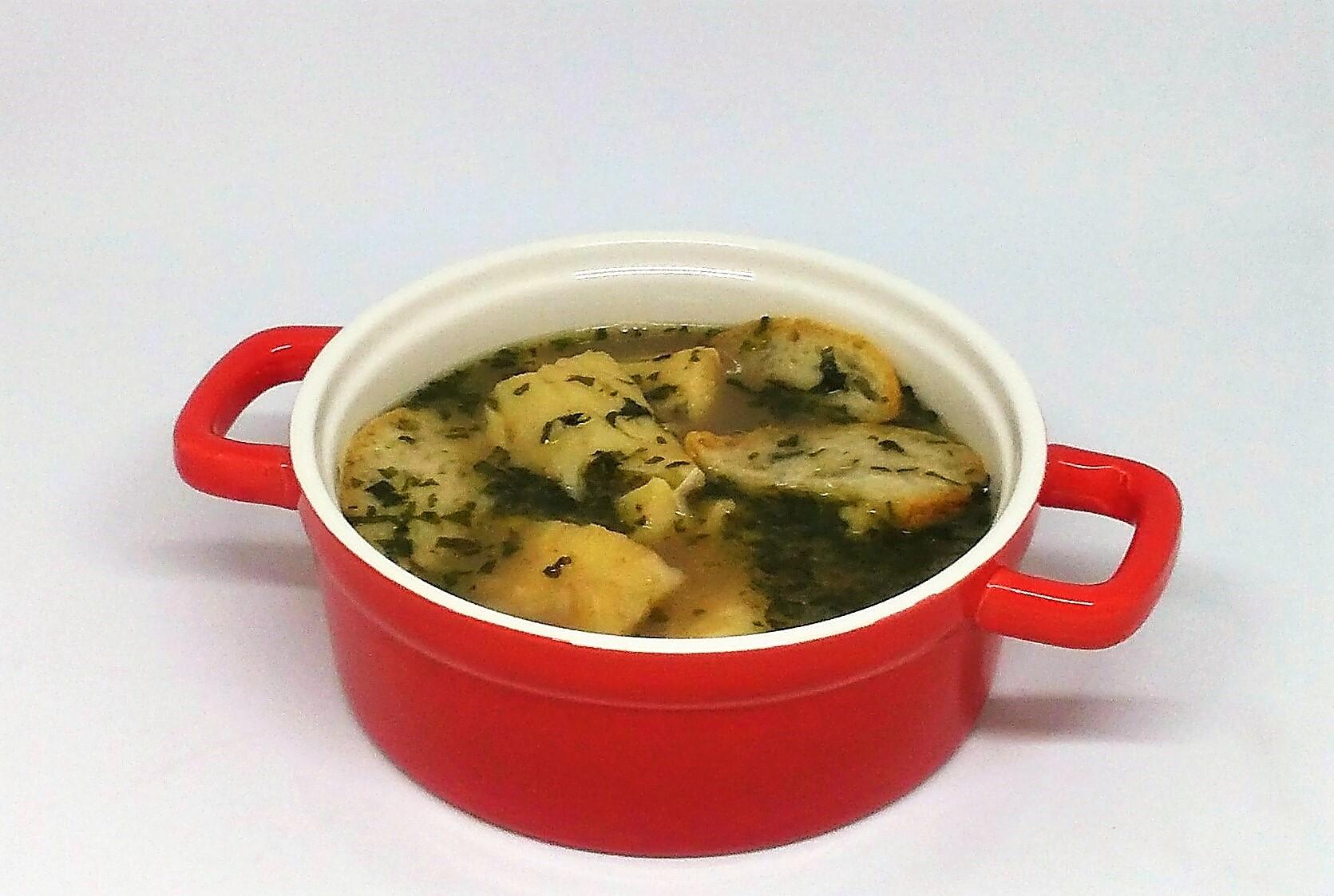 Sopa de Feijão com Bacalhau
