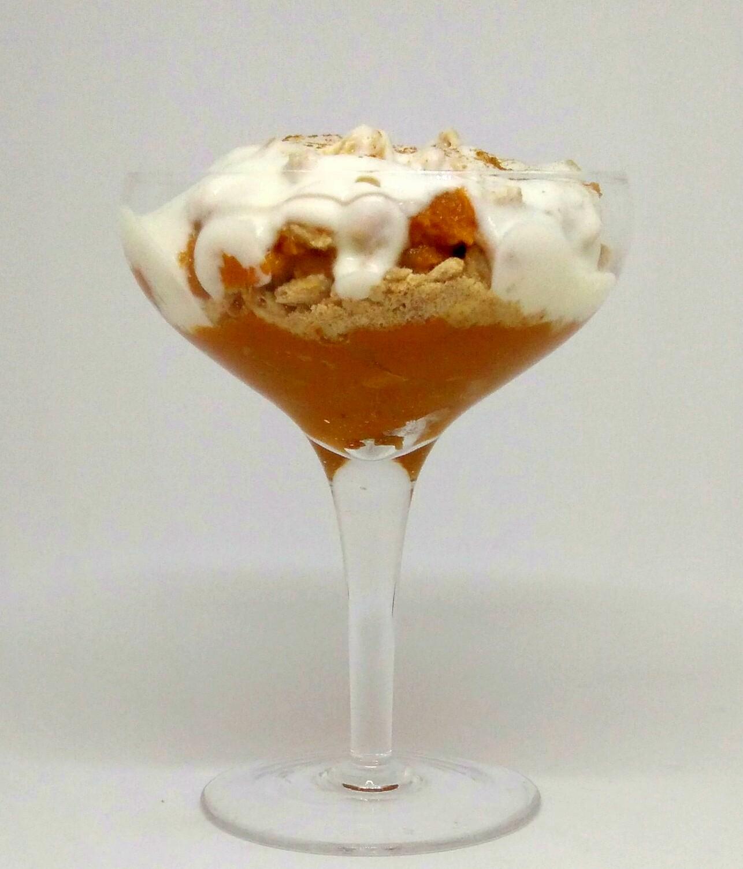Taça de Batata-doce e Iogurte