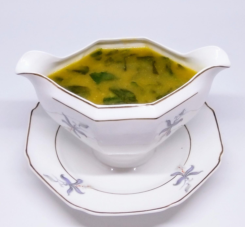 Sopa de Chuchu com Agrião