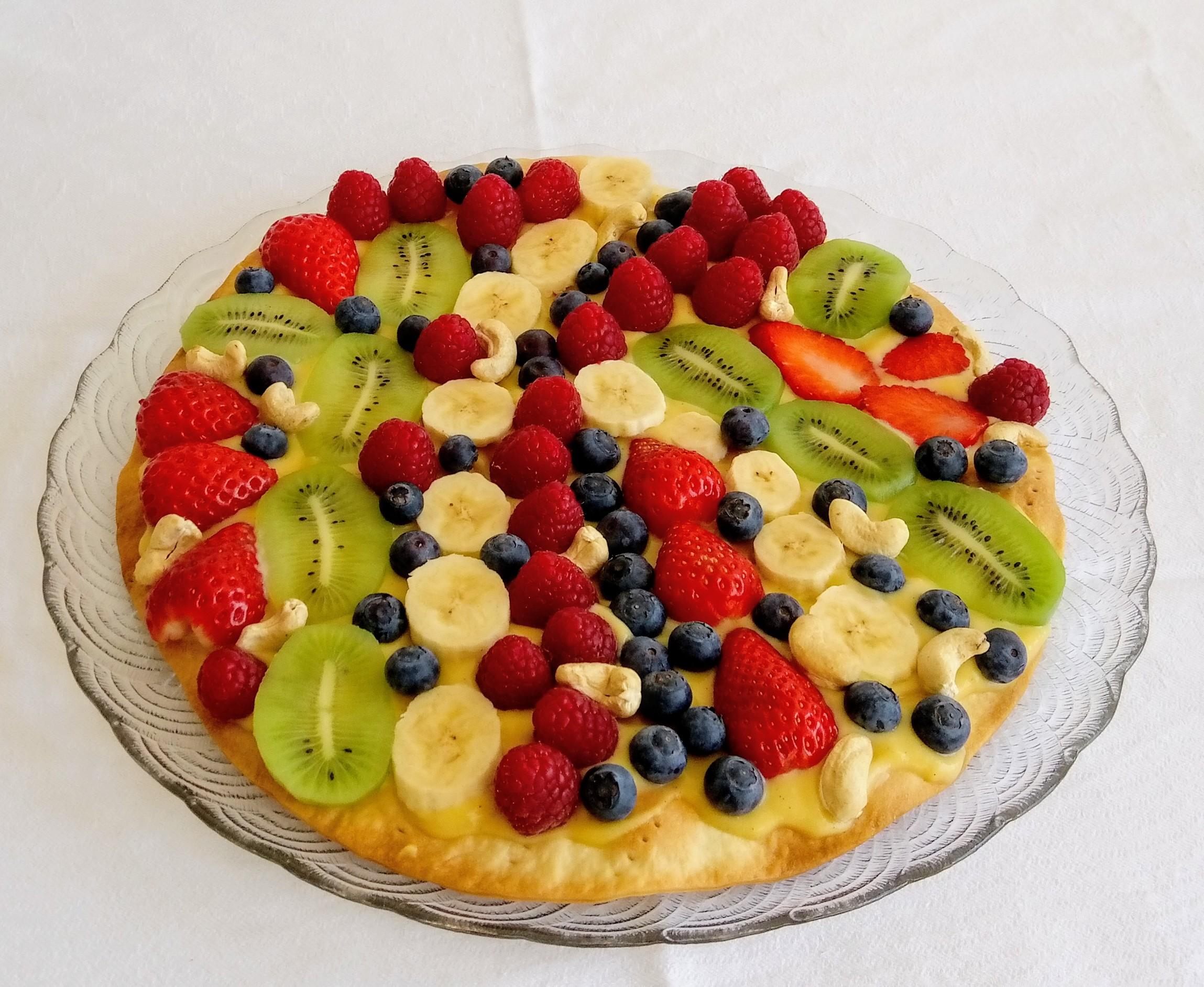 Piza de Fruta