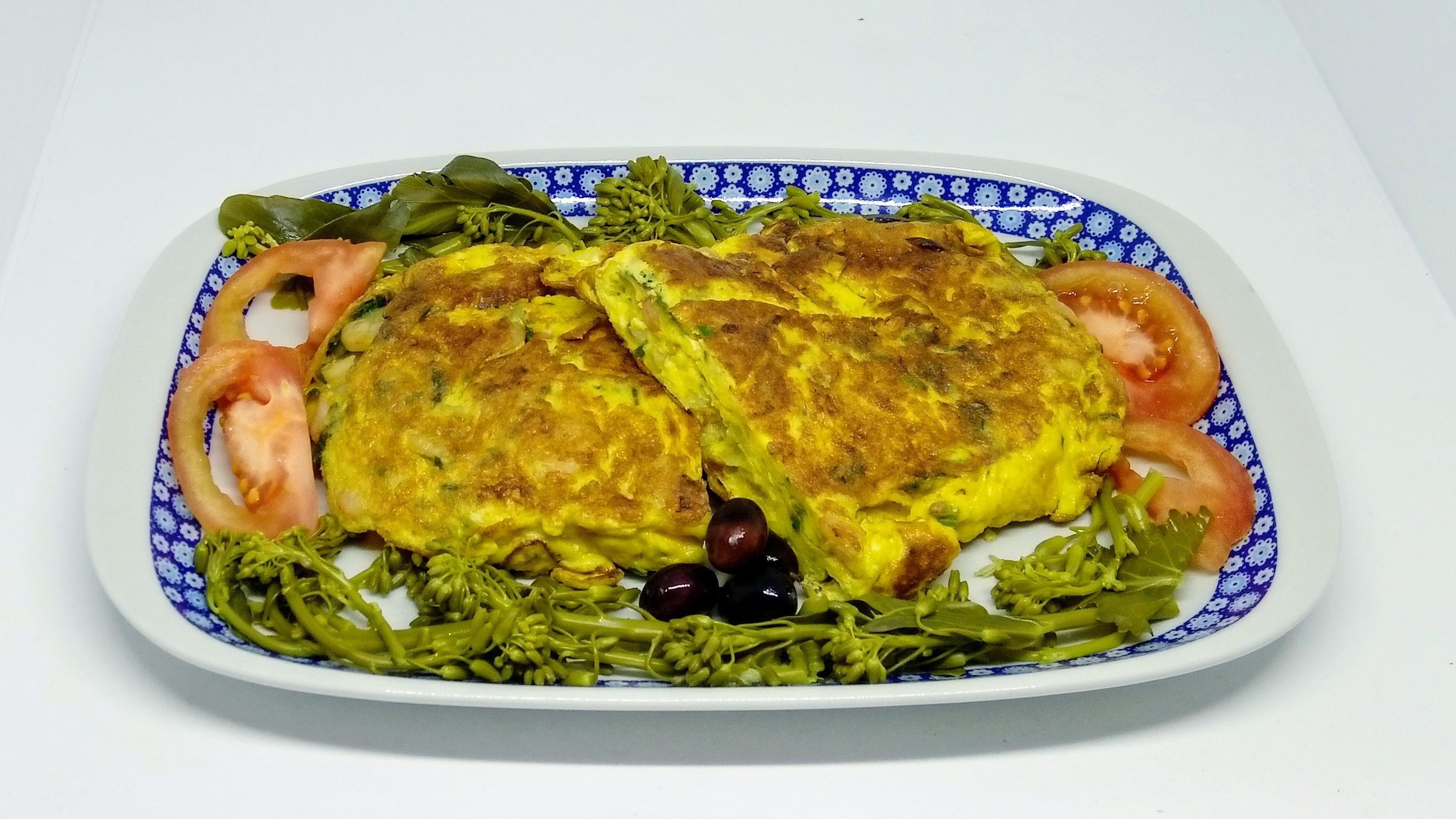 Omelete de Camarão