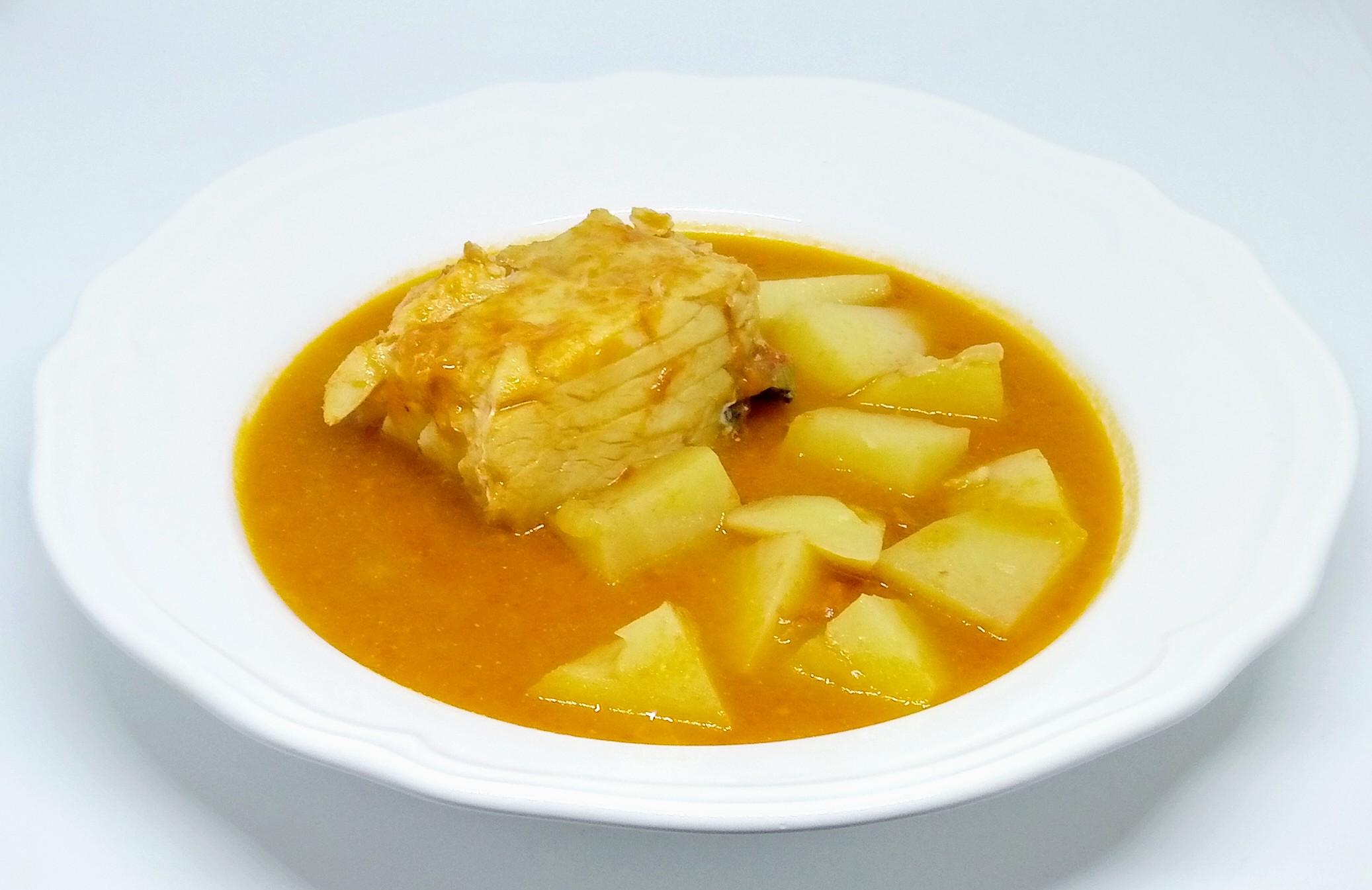 Sopa de Tomate com Bacalhau