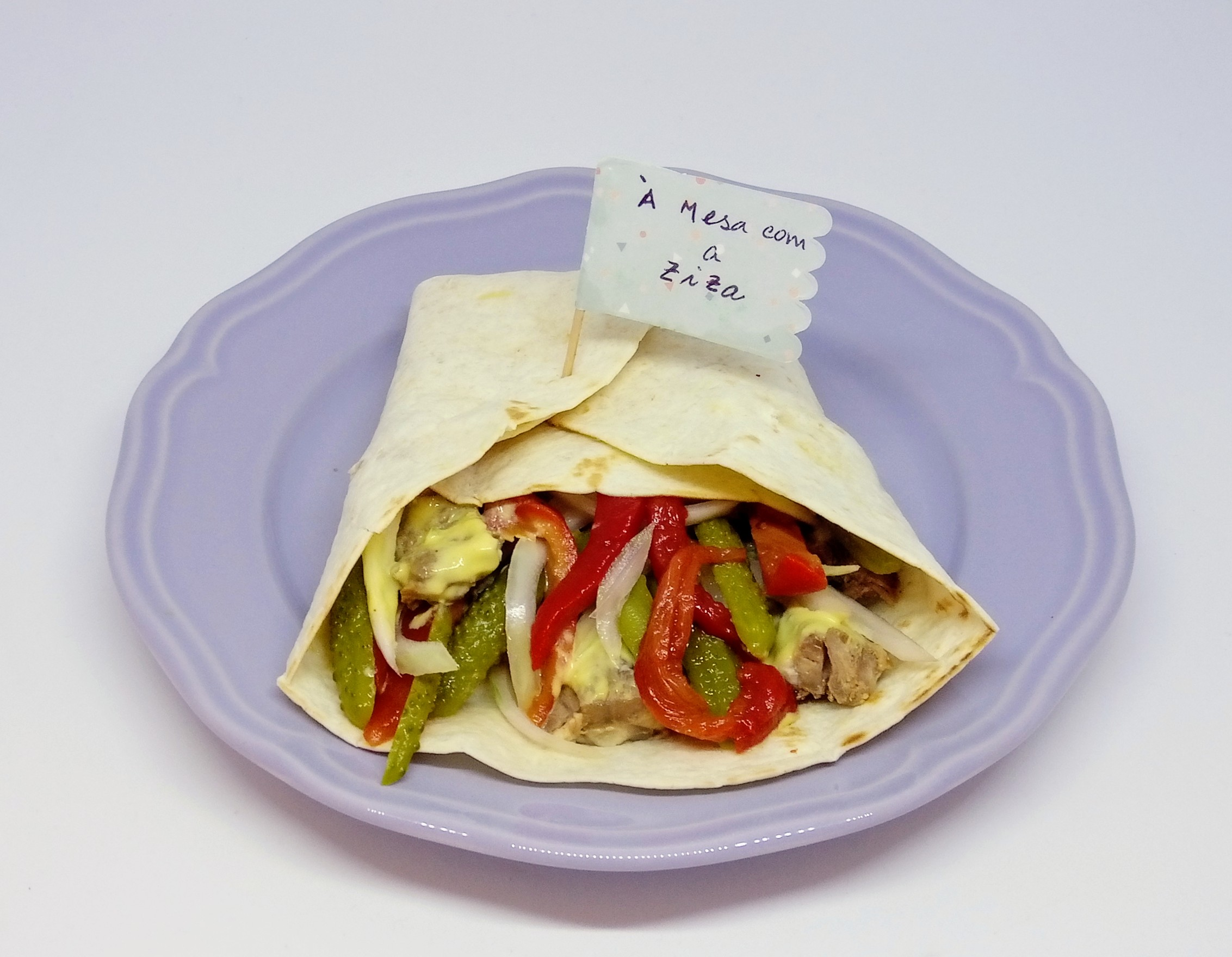 Tortilhas com Vitela e Molho Tártaro
