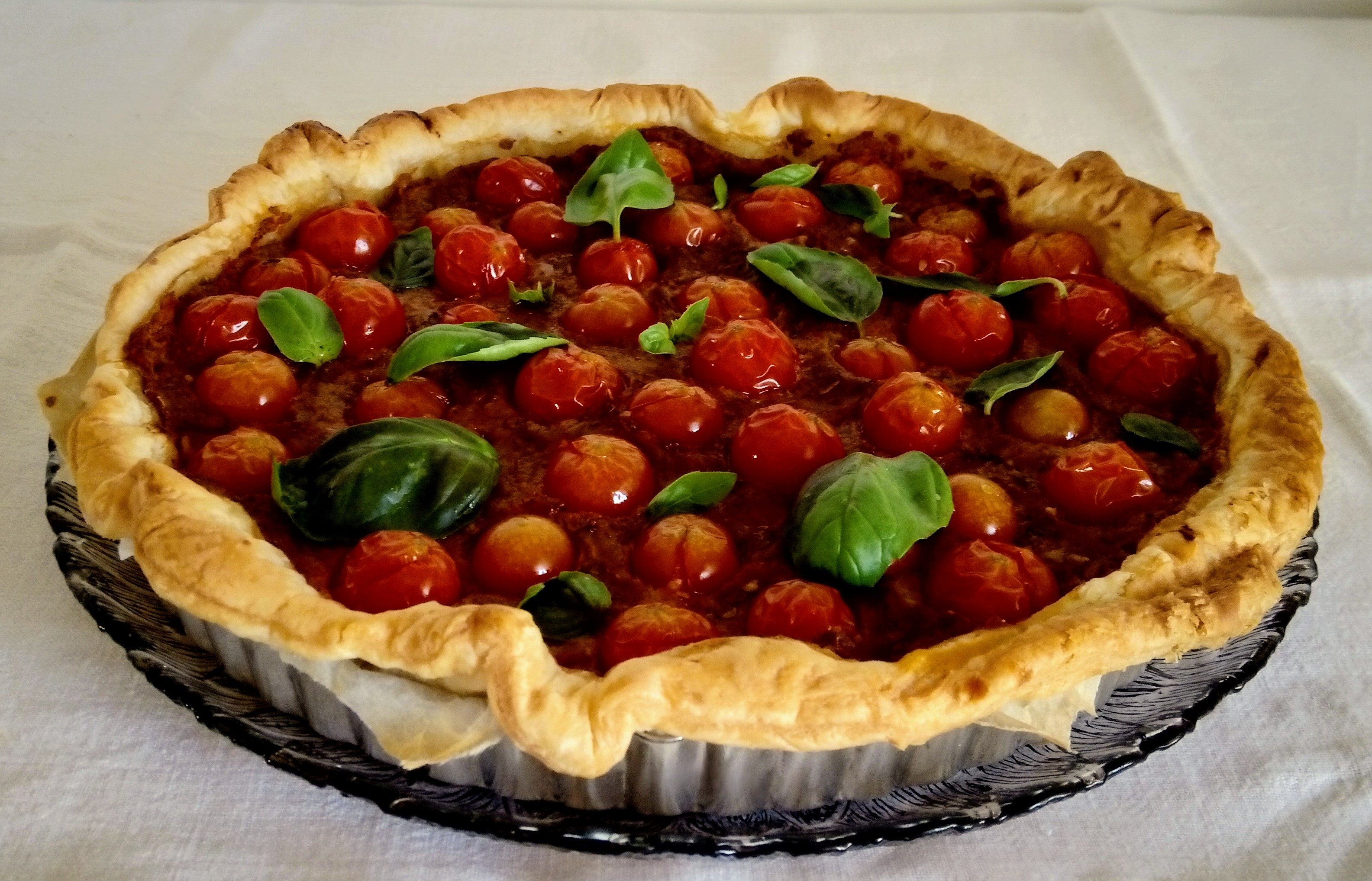 Tarte de Tomate Cereja